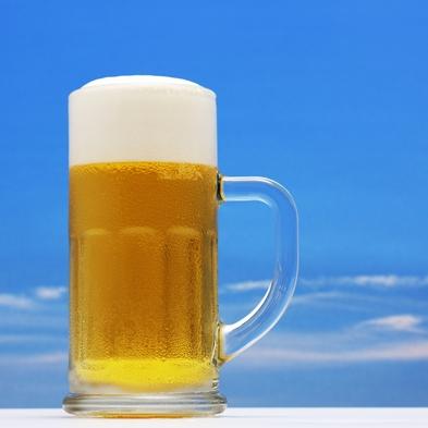 【 旅館部 】夏だ!生ビール2杯目無料!お風呂上りに至福のおかわり無料♪