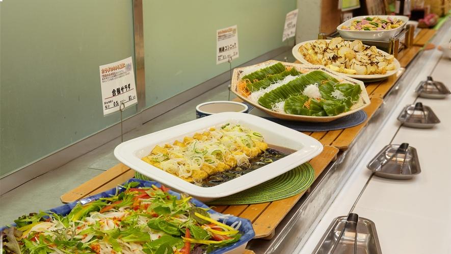 【夕食】夕食ビュッフェ一例