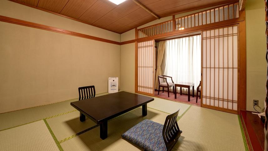 *【和室8畳】バス・洗浄機付トイレ