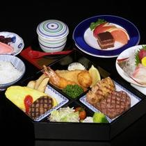 みやびコースのお子様料理(一例)