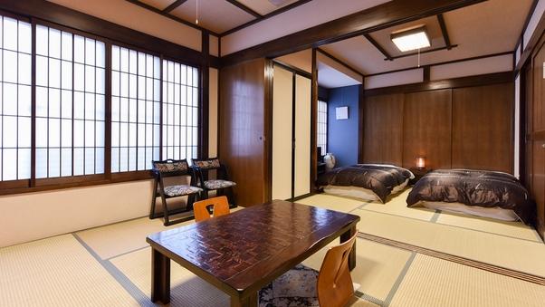 ◆和室6畳+6畳(ベッドタイプ/トイレ付)◆