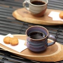 *【い鯉のテラス(一例)】ゆったりモーニングコーヒーをどうぞ。