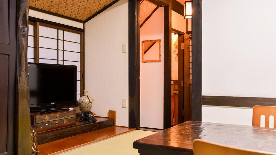 *和室8畳トイレ付(さくら)【2階】/お部屋の奥に洗面スペースがあります