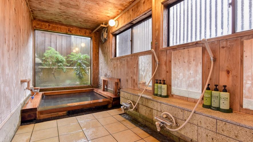 *温泉(女湯)/シャワーも完備