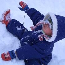*雪あそび
