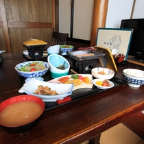 *【朝食一例】目覚めのカラダに優しい朝食を召し上がれ♪