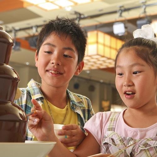 ■大人も子供も大好き!チョコフォンデュ