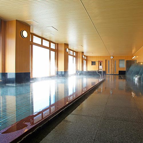 2017年1月にリニューアルした大浴場「湯源郷」(昼〜夜男性)