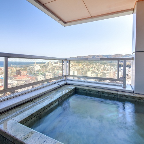 ■露天風呂客室の露天風呂