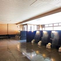 ■大浴場「トレヴィ」洗い場