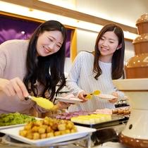 ◆女子も子供も大好きなチョコフォンデュー