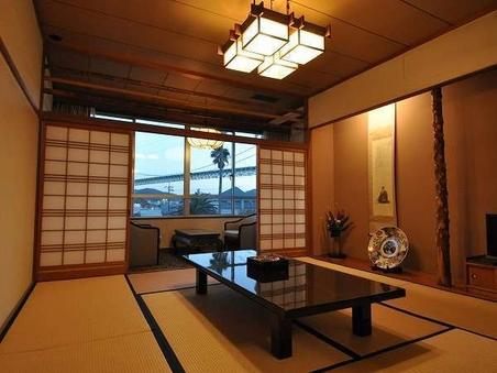 *関門橋の見える和室(2間続き)