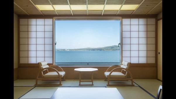 【禁煙/瑞仙】海を望む純和風客室《個室食事処確約》