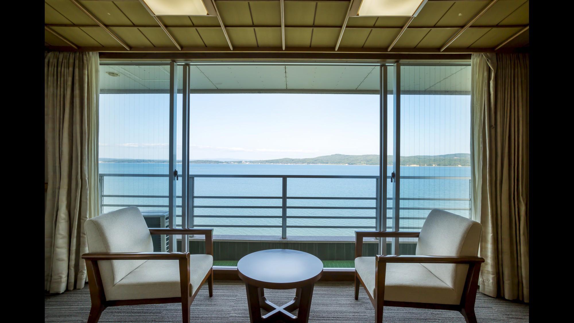【白鵬殿】海が見える一般客室