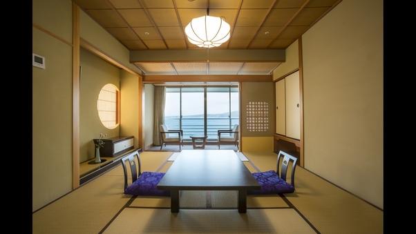 【禁煙/白鵬】海を望む一般客室《個室食事処確約》