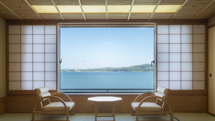 【瑞仙】海が見える一般客室
