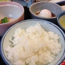 炊きたて朝ごはーん!