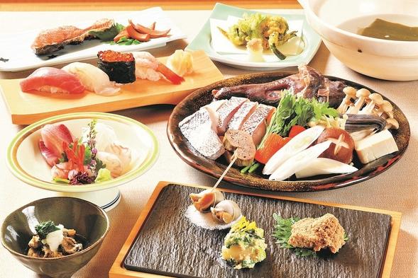 【すし柳美】寿司会席・朝食バイキング 2食付きプラン