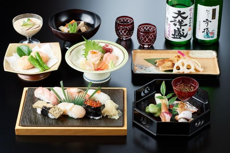 新潟和食と寿司会席