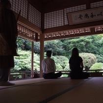 ■安来清水寺での座禅体験■