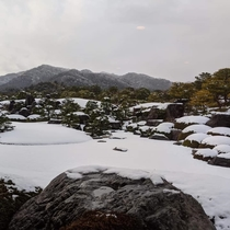 足立美術館 冬の庭園 2020-1