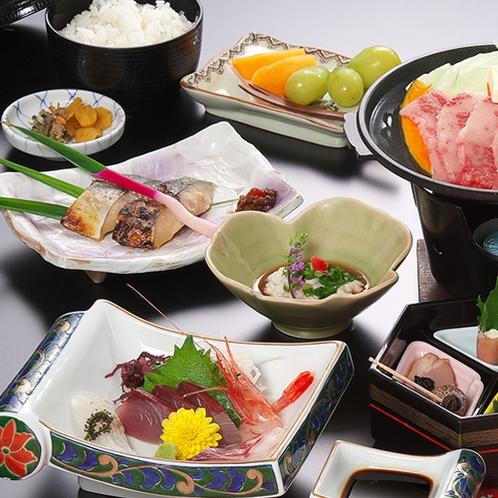 海鮮会席料理(一例)①