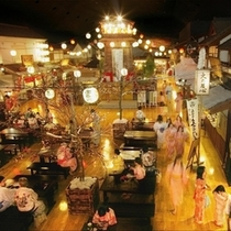 【600×600】大江戸温泉。広小路