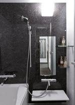 ダブルルーム、ツインルームのバスルーム