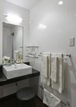 ダブルルーム、ツインルームの洗面台