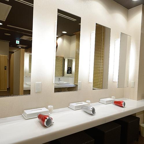 【大浴場】洗面スペース