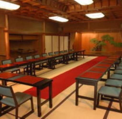 大広間高テーブル