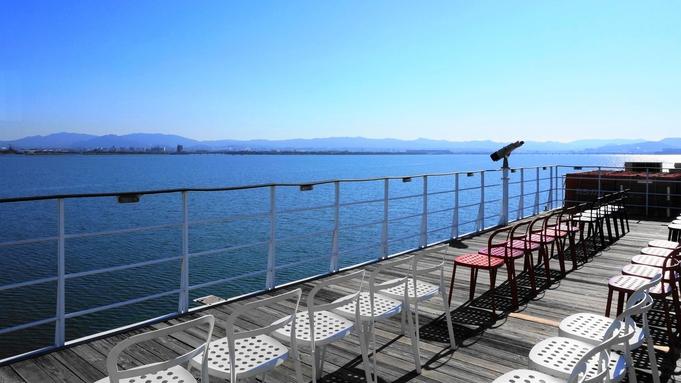 【びわ湖遊覧船】360度のパノラマ♪ミシガンクルーズ乗船券付 /朝食付