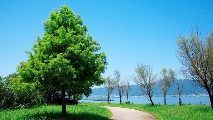 【ビワイチ応援】自転車でびわ湖を感じる♪サイクリスト応援プラン /朝食付