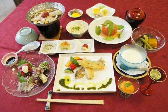【スタンダード】創作和食コース 神山の恵み山彩膳の宿泊プラン