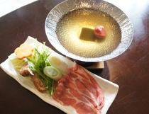 阿波ポーク梅鍋