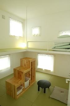 吊り床和室2名利用