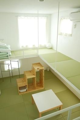 旅人応援プラン(和室または吊り床和室4人部屋)