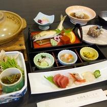 *【夕食一例】四季折々の味覚をお楽しみ頂けます。