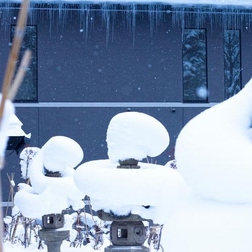 【庭園】冬景色