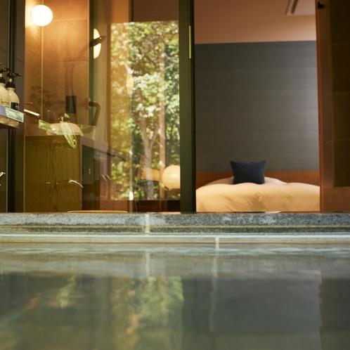 客室展望温泉