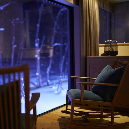 【藍】冬の夜 イメージ