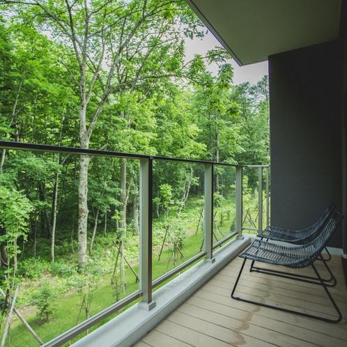【客室】バルコニーからの眺め