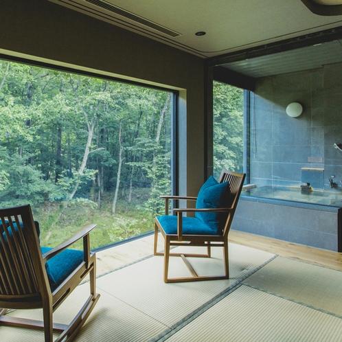 【藍】お部屋からの景色