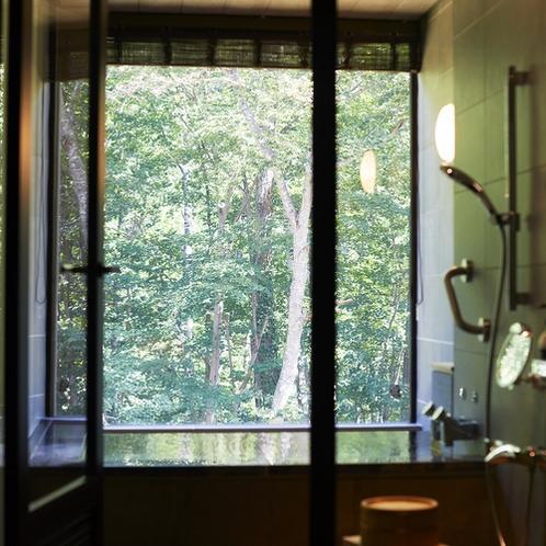 森の展望風呂