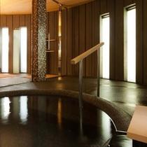客室専用風呂一例:紫陽花