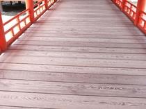厳島神社廊下