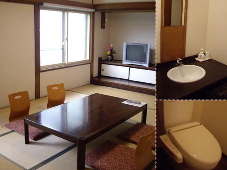 ◆一泊二食付◆和室8畳(2〜4名利用)