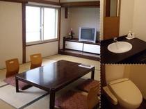 ひろ〜い和室。