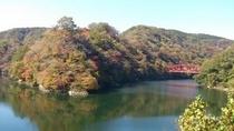 秋の神龍湖