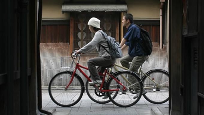 【楽天限定】京都自転車めぐり♪レンタサイクル24時間乗り放題プラン♪